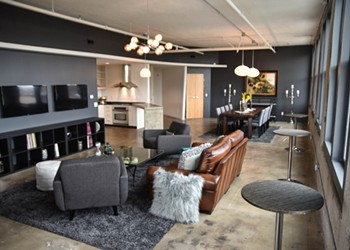 Party Like a Rock Star in Music Record Shop's New Green Room and Event Space