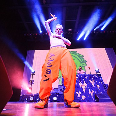 Die Antwoord at the Pageant 10/18/12