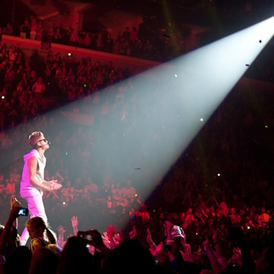 Justin Bieber at Scottrade Center