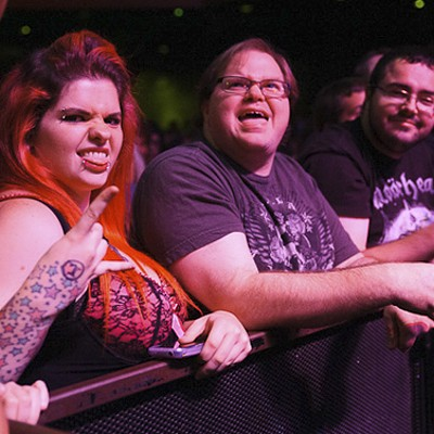 Steel Panther at the Pageant
