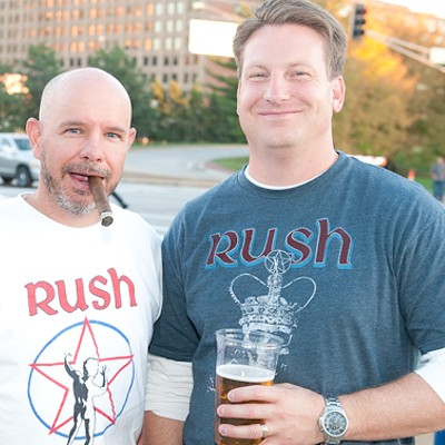 Rush at Scottrade Center September 22, 2012
