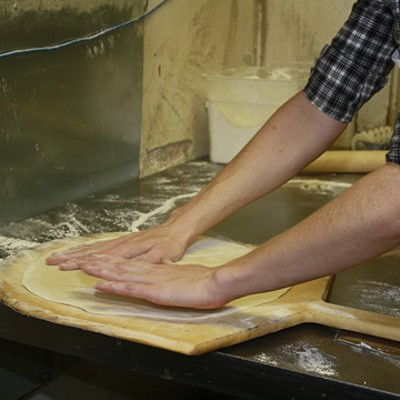 The Process Behind the Pizza at Katie's