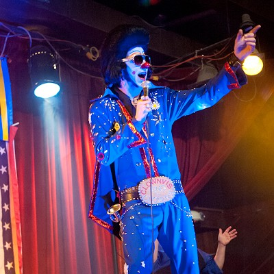 A Clownvis Christmas (NSFW)