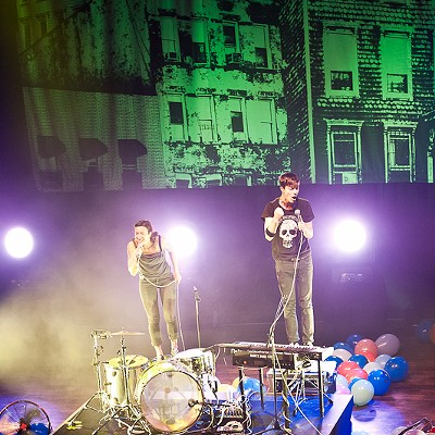 Matt and Kim at the Pageant