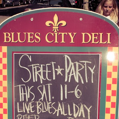 Blues City Deli Anniversary Streetfest 2010