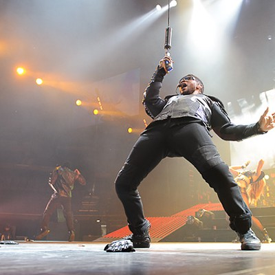Usher at the Scottrade Center
