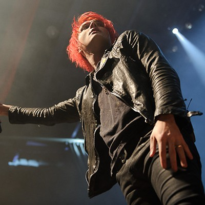 My Chemical Romance at the Pageant