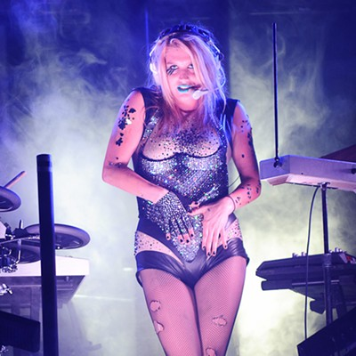 Ke$ha at the Pageant