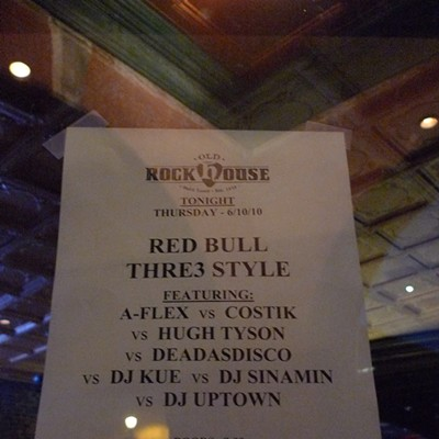 Red Bull Thre3style at Old Rock House
