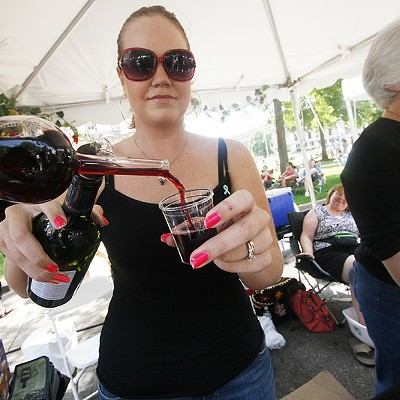 Drinking Bargain Wines at STL Uncorked, 6/19/10