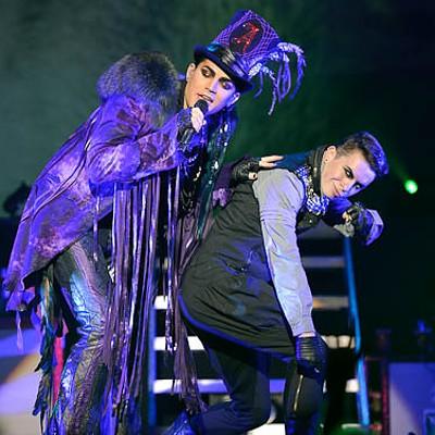 Adam Lambert at the Pageant, 8/8/10