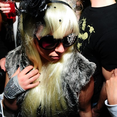 Lady Gaga After-Party at Erney's 32°, 1/7/09