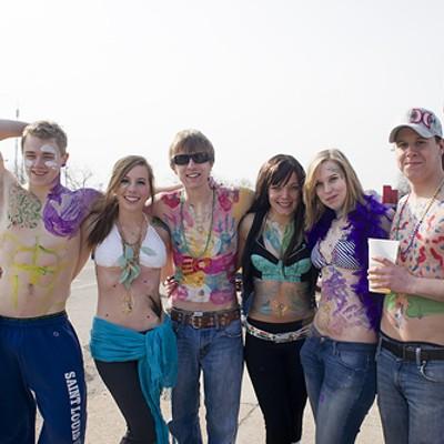 Earning Beads at Mardi Gras 2012 (NSFW)
