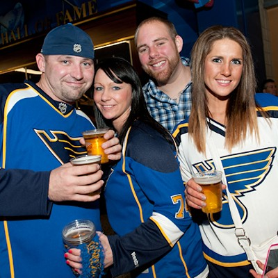 Fans of the Blues Home Opener