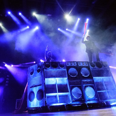 Major Lazer at the Pageant