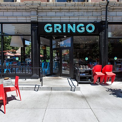 Inside Gringo in the Central West End
