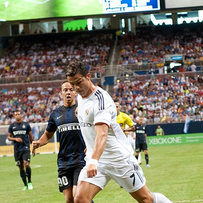 Real Madrid vs. Inter Milan at the Edward Jones Dome
