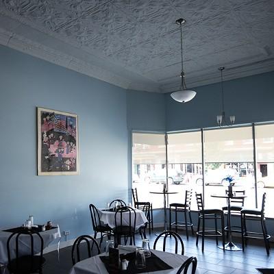 Inside Cafe Natasha's on South Grand