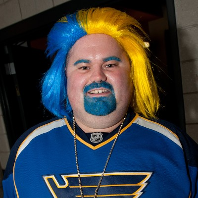 People of the 2013 St. Louis Blues Season Opener