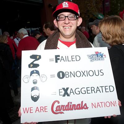 Cardinals Fans Show Off Their Halloween Spirit
