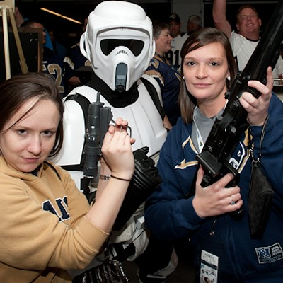 <I>Star Wars</I> Night at the Edward Jones Dome