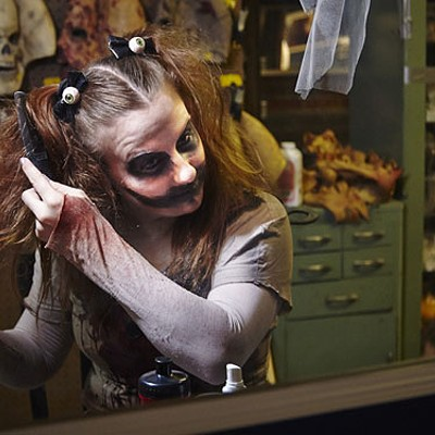 Scenes from The Darkness, the Haunted House in Soulard