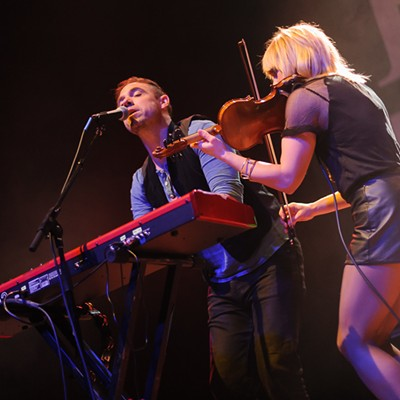 The Airborne Toxic Event at the Pageant