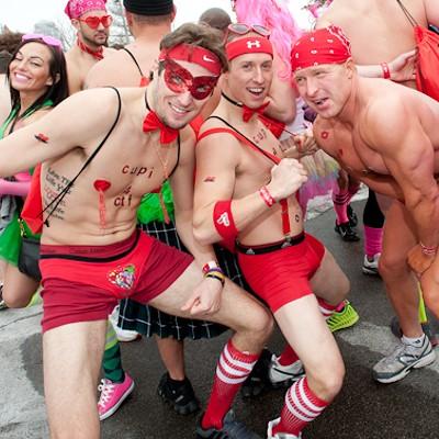 2014 Cupid's Undie Run in St. Louis