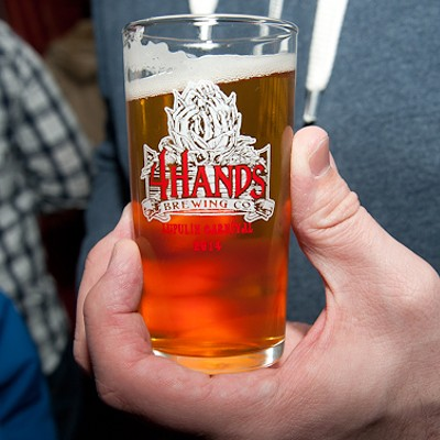 Beer Lovers at the Lupulin Carnival