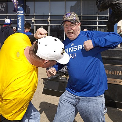 NCAA March Madness Fans at Scottrade Center