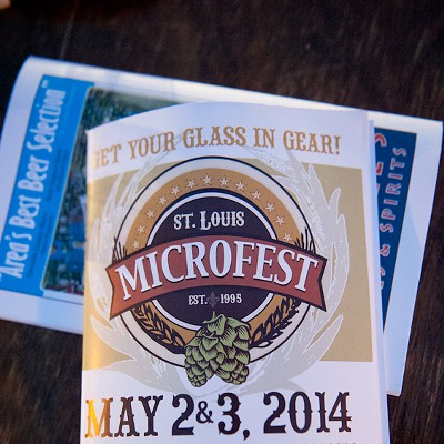 2014 STL Microfest Beer Festival in Forest Park