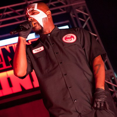 Tech N9ne at the Pageant