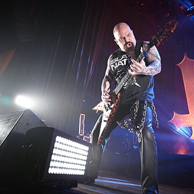 Slayer, Well, Slays at the Pageant