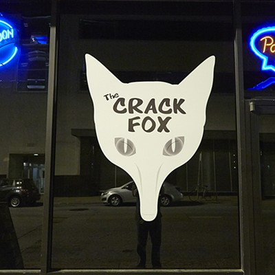 Pizza and Porn at the Crack Fox