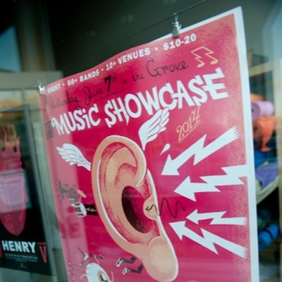 2014 RFT Music Showcase in the Grove