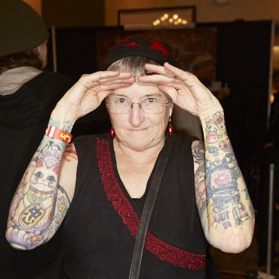 The Art-Covered Bodies at the Old School Tattoo Expo