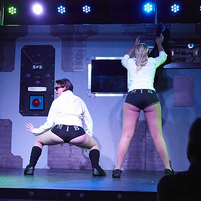 Randy Dandies Serve Up Sci-Fi Burlesque (NSFW)