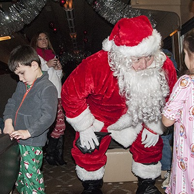 The Polar Express Rolls into St. Louis with Santa and Sweets