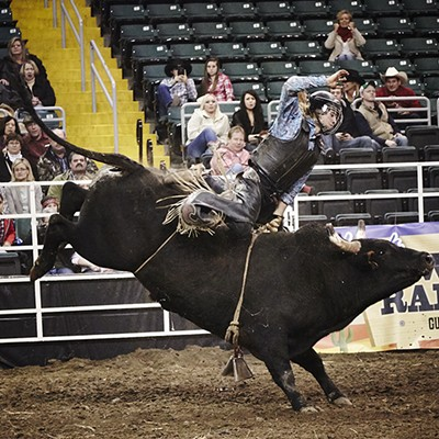 Horsin' Around at the Lone Star Rodeo at Family Arena
