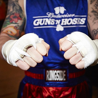 2015 Guns 'N Hoses Boxing Match
