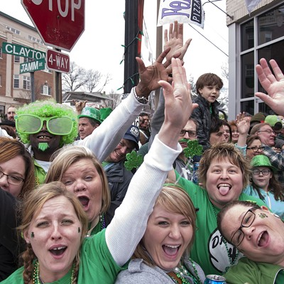 2015 St. Patrick's Day Parade in Dogtown