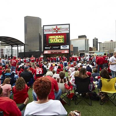 Opening Day at Busch Stadium