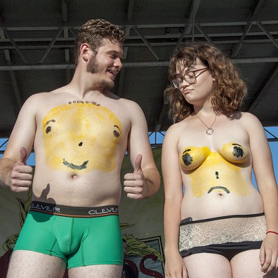 NSFW: A Bunch of Boobs, Butts and Wieners from STL's World Naked Bike Ride