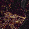 Heatmap Shows the Stark Separation of the Delmar Divide