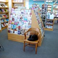 Left Bank Books' Cat in Residence, Spike, Disrupts Feminist Reading