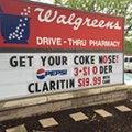 St. Louis Walgreens Sign Went from 'Butt Fingerer' to 'Coke Nose'
