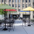 The Dark Room's New Patio Is a Place to Sit Outside in Grand Center