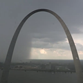 Insane Video Shows 'Wet Microburst' Splashing Down on St. Louis Saturday