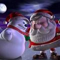 Santa's Mittened Fisticuffs