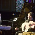 Pioneering composer Terry Riley Gets spiritual with his son, Gyan